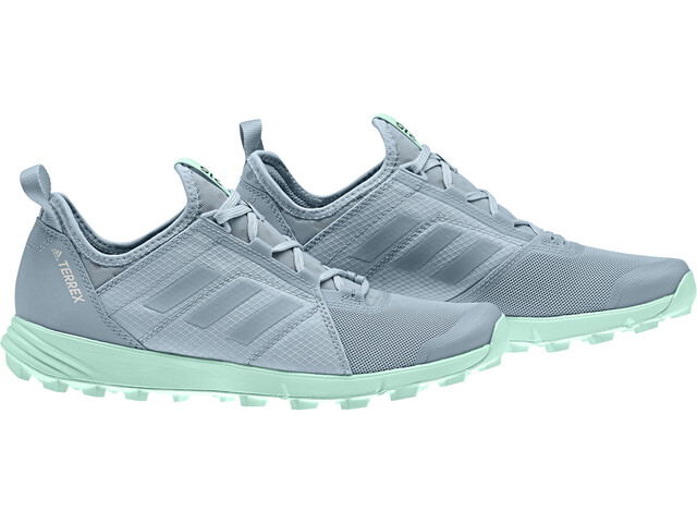 details for quality store adidas TERREX Speed Shoes Women ash grey/ash grey/clear mint